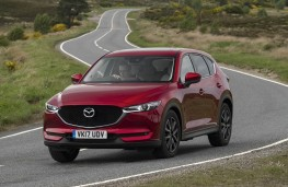 Mazda CX-5, front action