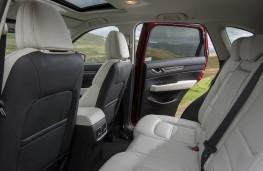 Mazda CX-5, rear seats