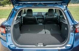 Mazda CX3 2018 boot - seats down