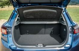 Mazda CX3 2018 boot - seats up