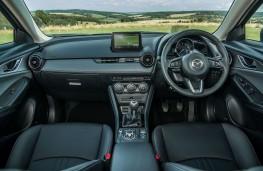 Mazda CX3 2018 cockpit