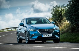 Mazda CX3 2018 front action