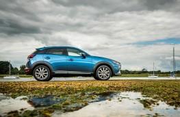Mazda CX3 2018 profile