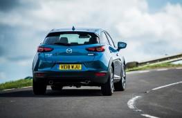 Mazda CX3 2018 rear action