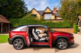 Mazda MX-30, 2021, doors