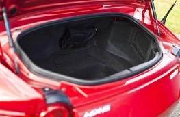 Mazda MX-5, boot