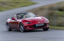Mazda MX-5, front action