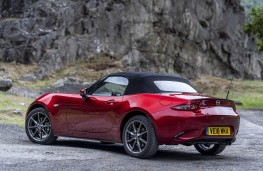 Mazda MX-5, rear static