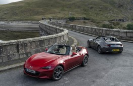 Mazda MX-5, two cars