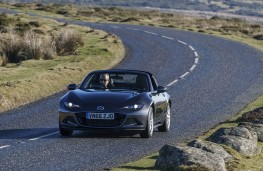 Mazda MX-5 RF, front action