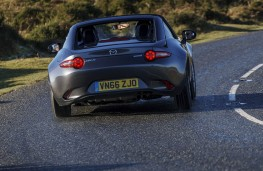 Mazda MX-5 RF, rear action