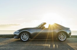 Mazda MX-5 RF, side sunburst