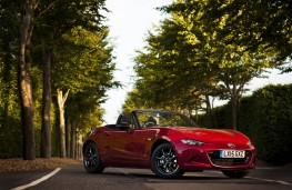 Mazda MX-5, static trees