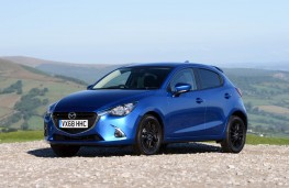 Mazda2 Black Edition+, front static