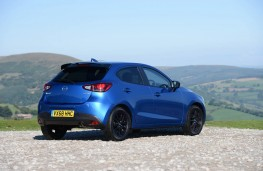 Mazda2 Black Edition+, rear static