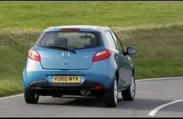 Mazda2 rear action