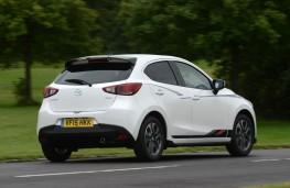 Mazda2 Sport Black, rear action