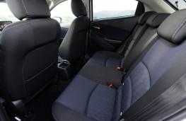 Mazda2 Sport Black, rear seats