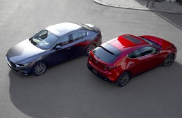 Mazda3 2019 saloon and hatchback