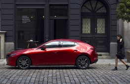Mazda3 hatchback 2019 profile