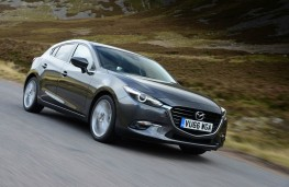 Mazda3, front action