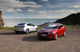 Mazda3, both versions 1