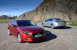 Mazda3, both versions 2