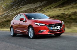 Mazda3 Hatchback, front action