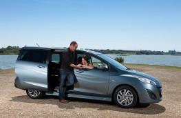 Mazda5 Venture, sliding doors