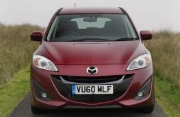 Mazda5, head on