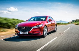 Mazda6, front action