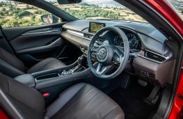 Mazda6, front seats