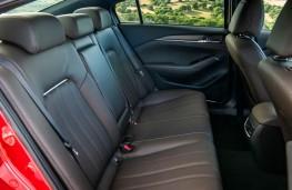 Mazda6, rear seats