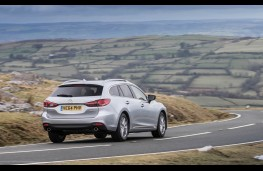 Mazda6 Tourer, rear action