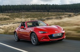 Mazda MX-5 Roadster Coupe, front