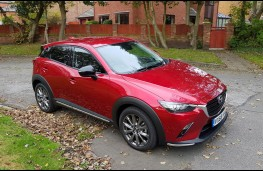 Mazda CX-3 2.0 Sport Black +, profile