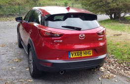 Mazda CX-3 2.0 Sport Black +, rear