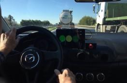 Mazda SKYACTIV-X prototype, 2018, driving