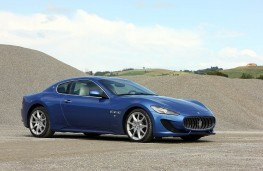 Maserati GranTurismo Sport, front