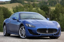 Maserati GranTurismo Sport, front, static