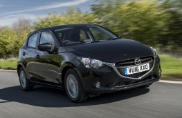 Mazda2 Red Edition, front