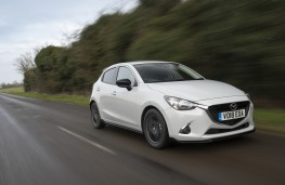 Mazda2, 2018, front, action