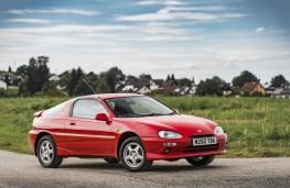 Mazda MX-3, 1994, side