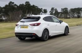 Mazda3 Sport Black, rear