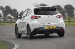 Mazda2, 2018, rear, action