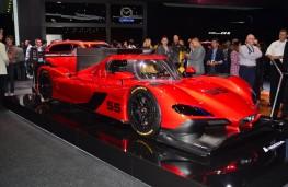 Mazda RT24-P, side, 2016, Los Angeles auto show