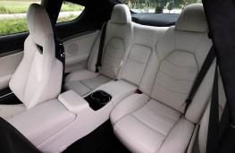 Maserati GranTurismo Sport, rear seats