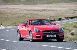 Mercedes SLK, front