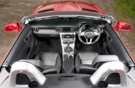 Mercedes SLK, interior