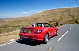 Mercedes SLK, rear